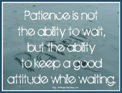 Why Patience Is The Essential Ingredient in Goal Achievement