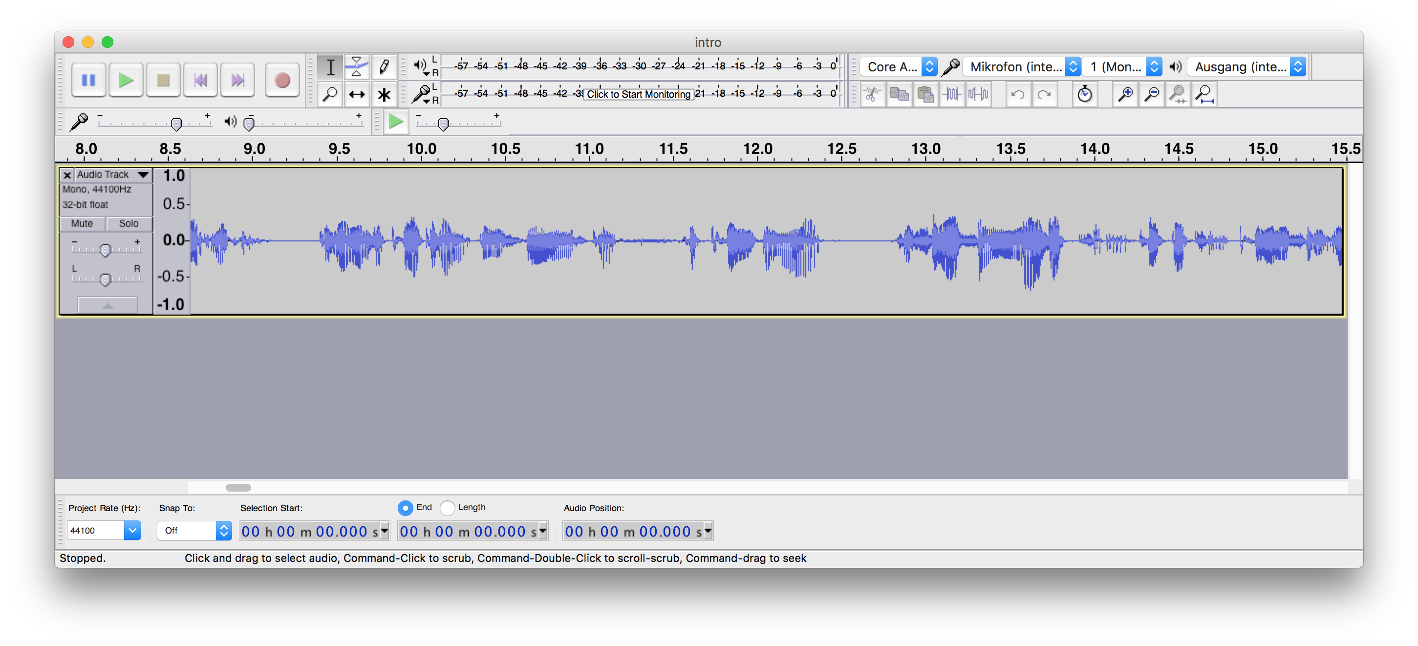 How to Clean Up Your Vocals in Audacity — Matthew Setter
