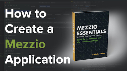 How to Manually Create a Mezzio Application