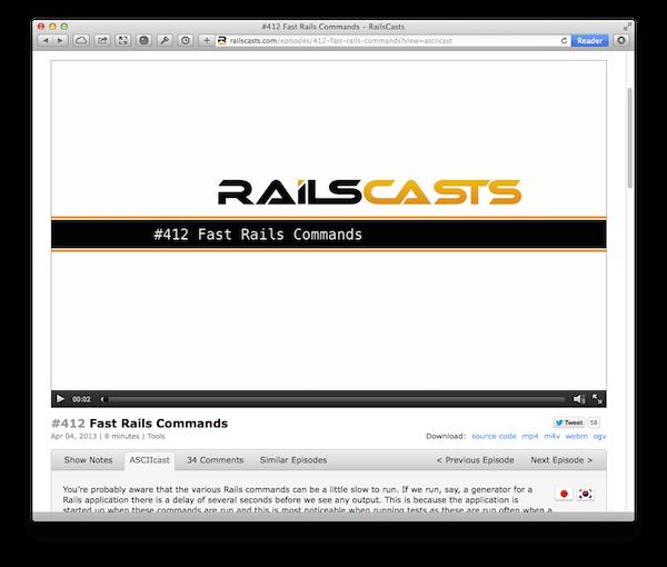 railscasts screenshot