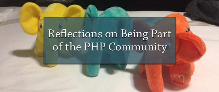 Reflections on Being Part of the PHP Community