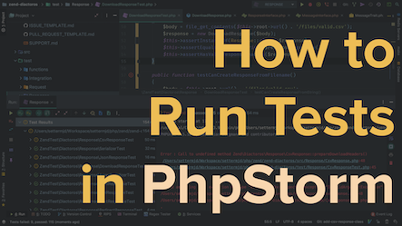 How to Run Tests in PhpStorm